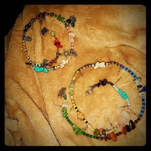 Jewelry - Anklet and Bracelet Set